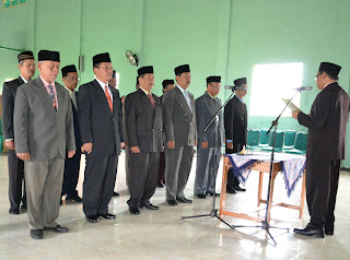 28 Februari 2011 di Aula Serbaguna Kantor Kementerian Agama Kab