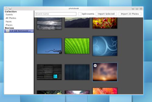 PhotoBook anche KDE avrà il suo Shotwell