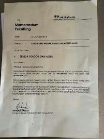 Harga Kosmo RM 1 Sebab Tak Laku?