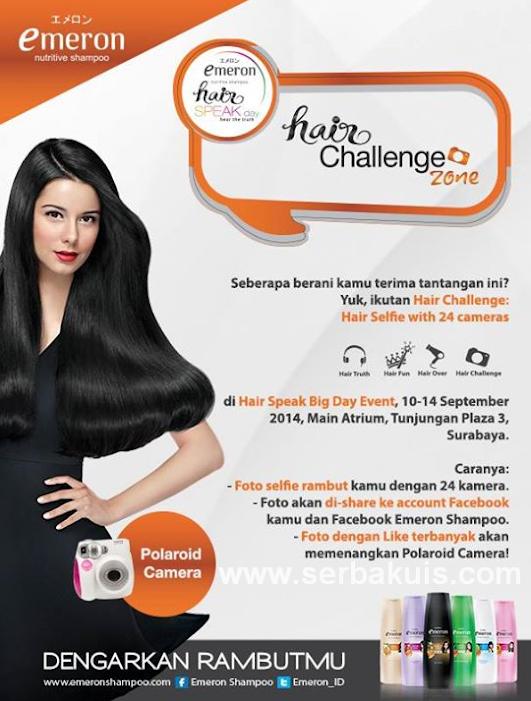 Kontes Selfie Hair Challenge Berhadiah Kamera Polaroid