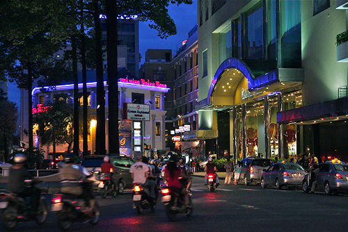 walking ho chi minh