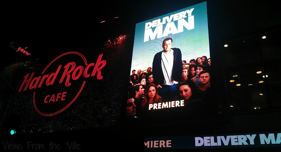 The Delivery Man Afterparty at the Hard Rock Cafe Hollywood #DeliveryManEvent