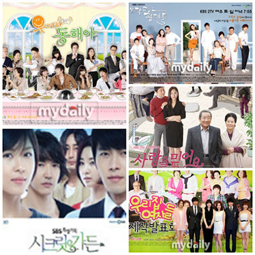 Top korean dramas for 2011 by TNmS