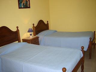 Quarto 2 camas - Casa na Aldeia Turística de Lindoso