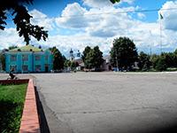 Борзна, в центре города