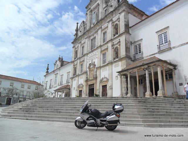 Santarém - Praça de Sá da Bandeira - Igreja da Nossa Sra da Conceição, Ribatejo, Portugal