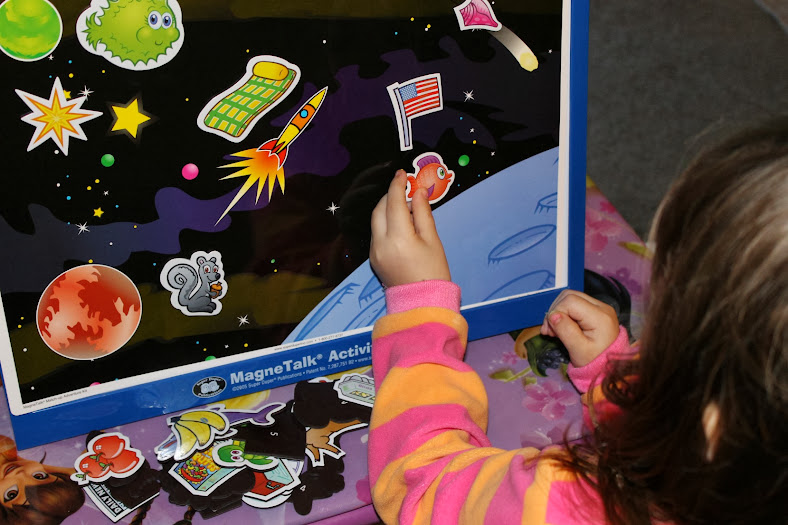 Games for Toddlers: MagneTalk Activity Centerfrom Super Duper Publications