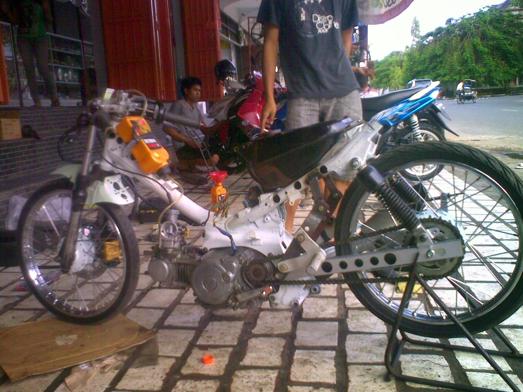 Modifikasi Mesin Honda Karisma 125d