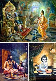 Кришна иллюстрации к Шримад Бхагаватам