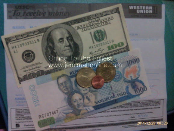 Dollar-peso exchange rate