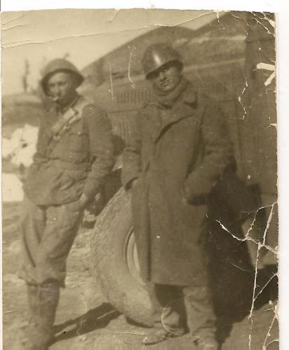Libero Dean Rehova 1941 Greco-albanese offensiva 13.3.1941