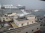 Rainy back at the Naples dock