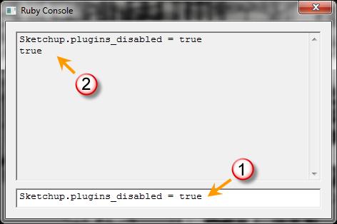 การเปิด/ปิดการทำงานของปลั๊กอินทั้งหมดใน SketchUp 8.0.11752 Surubyturnoff03