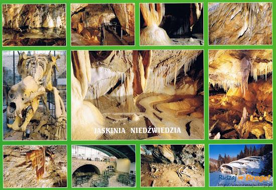 jaskinia niedźwiedzia - pocztówka z atrakcjami