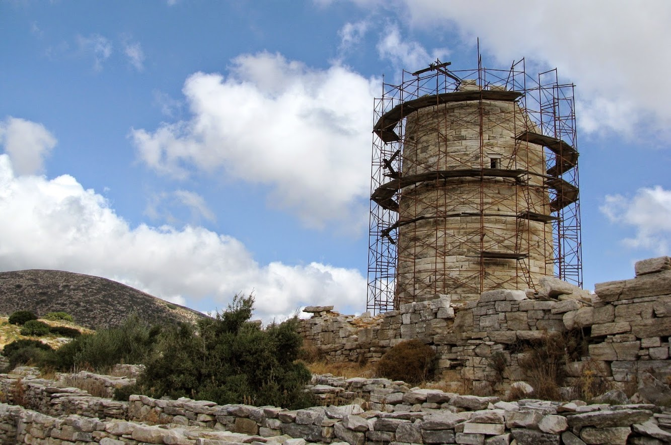Heritage: The Cheimarros Tower on Naxos to be restored