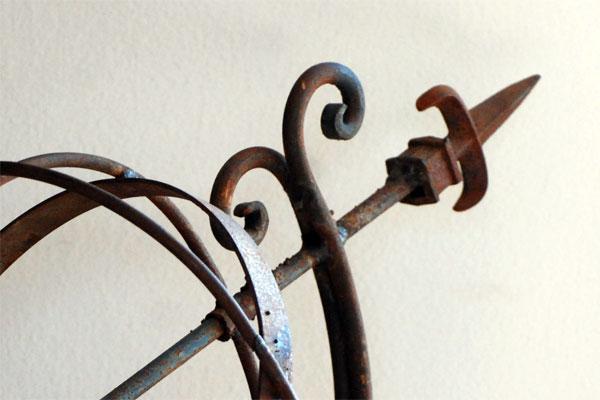 metal art, in my dining room