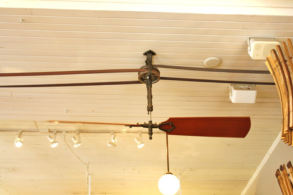 Gallery For Antique Ceiling Fans Belt Driven