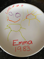Plate by Emma Preston 1983