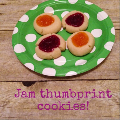 jam thumbprint cookie recipe