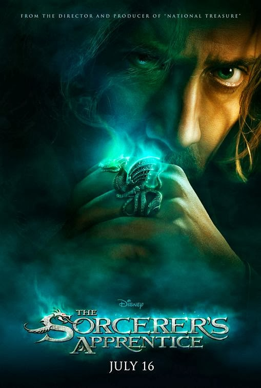 Poster Of The Sorcerer's Apprentice (2010) Full Movie Hindi Dubbed Free Download Watch Online At Alldownloads4u.Com