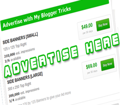 Creating an Advertise Page with BuySellAds