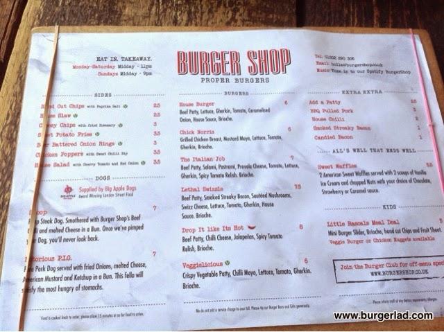 Burger Shop Lethal Swizzle