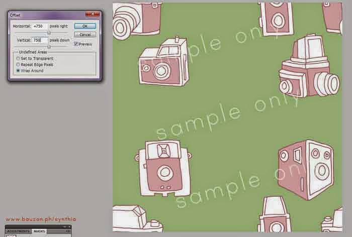 how to make a seamless pattern in photoshop