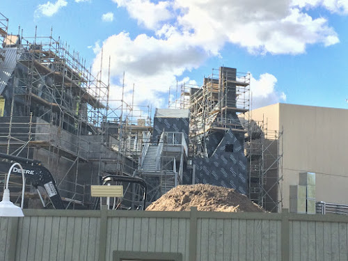 Harry potter construction update
