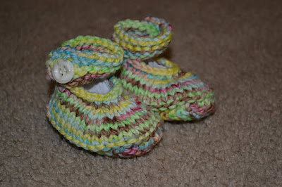 Mary Jane booties newborn