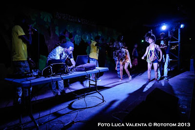 Benicassim,  20/08/2013 - Sunsplash 2013 - African Village: Discoteca al más puro estilo africano - Photo by Luca Valenta © Rototom 2013