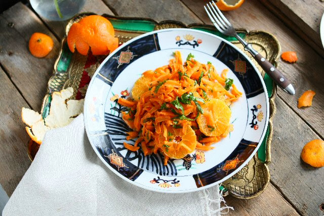 Carrot and Clementine Salad