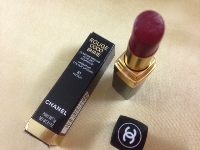 Chanel Rouge Coco Shine (81) Fiction