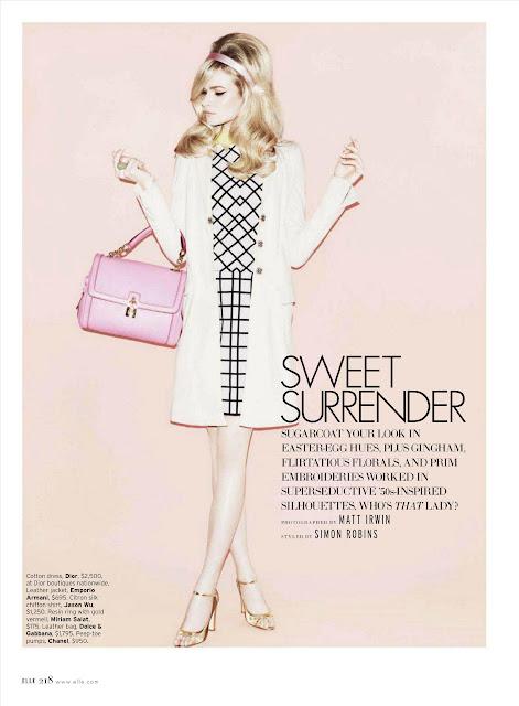 Sweet Surrender (Elle USA, febrero 2012)