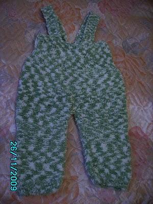 Вязанные пинетки для новорожденного
