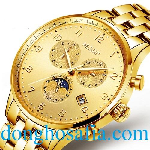 Đồng hồ nam cơ Aesop 9003 AS003
