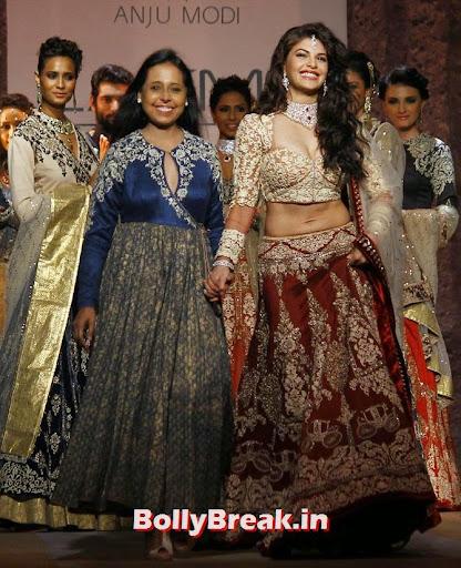 Jacqueline Fernandez with Anju Modi.