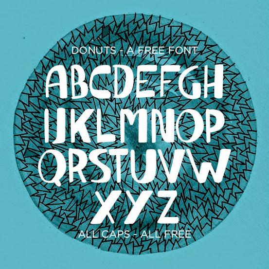 Donuts Free Fonts