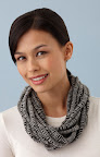 The Statement Strands necklace requires only braiding and a few sewn stitches: http://marthastewart.lionbrand.com/patterns/L10259.html