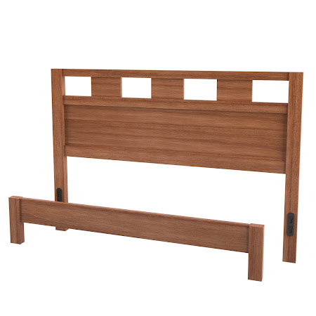 Dakota Platform Bed in Royal Maple