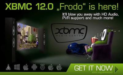 XBMC 12.0 'Frodo' disponible, con soporte oficial para Raspberry Pi