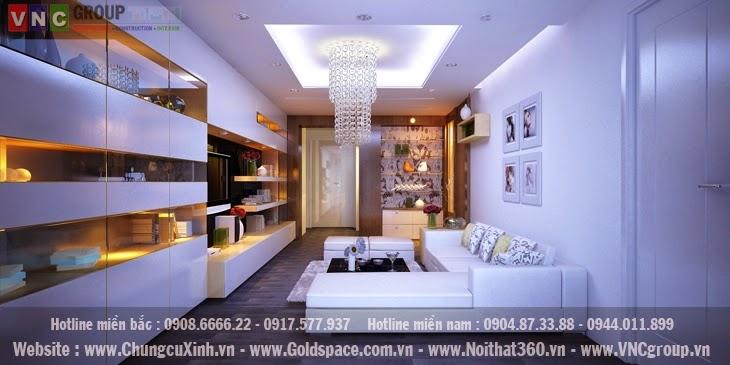 Thiết kế nội thất căn hộ chung cư đẹp và chuyên nghiệp với Chung Cư Xinh
