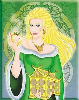 Goddess Idunn Image
