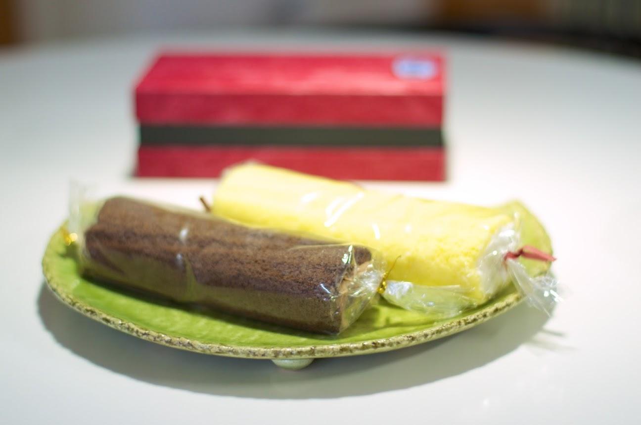 千成屋(留萌市)の恵方ロールケーキ