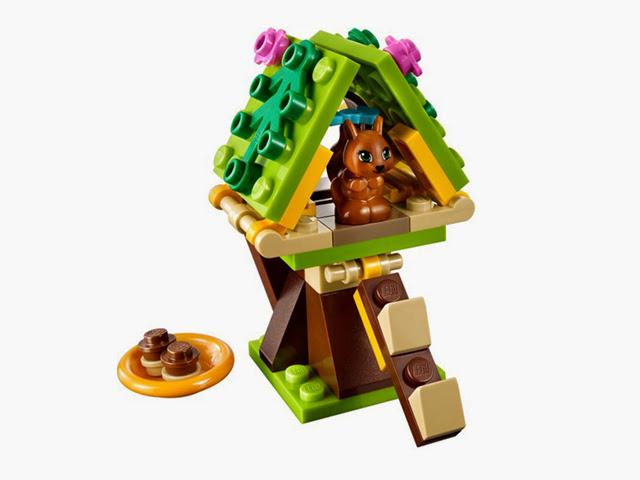 41017 レゴ フレンズ・リスとツリーハウス