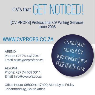 Cv Profs Cv Writing Services Google