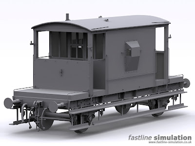 Fastline Simulation: dia 1/507 CAR brake van for Railworks.