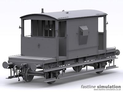 Fastline Simulation: dia 1/507 CAR brake van for Railworks.