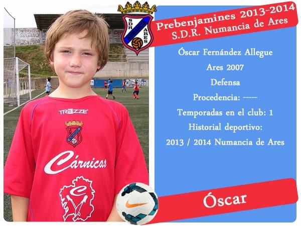 ADR Numancia de Ares. OSCAR