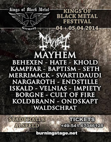 Kings of Black Metal festival 2014