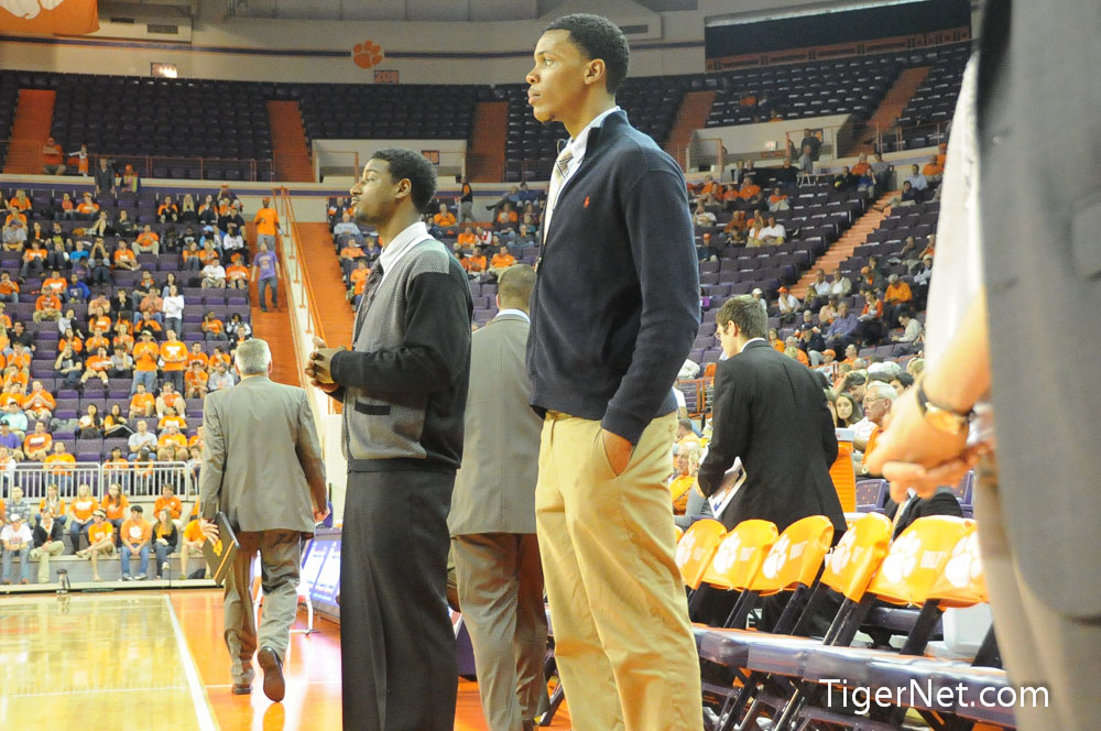 Clemson vs. Presbyterian College Photos - 2012, Basketball, Devin Coleman, Jaron Blossomgame, Presbyterian